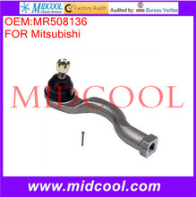 High Quality Auto Parts Front Outer Right Steering Tie Rod End OEM:MR508136