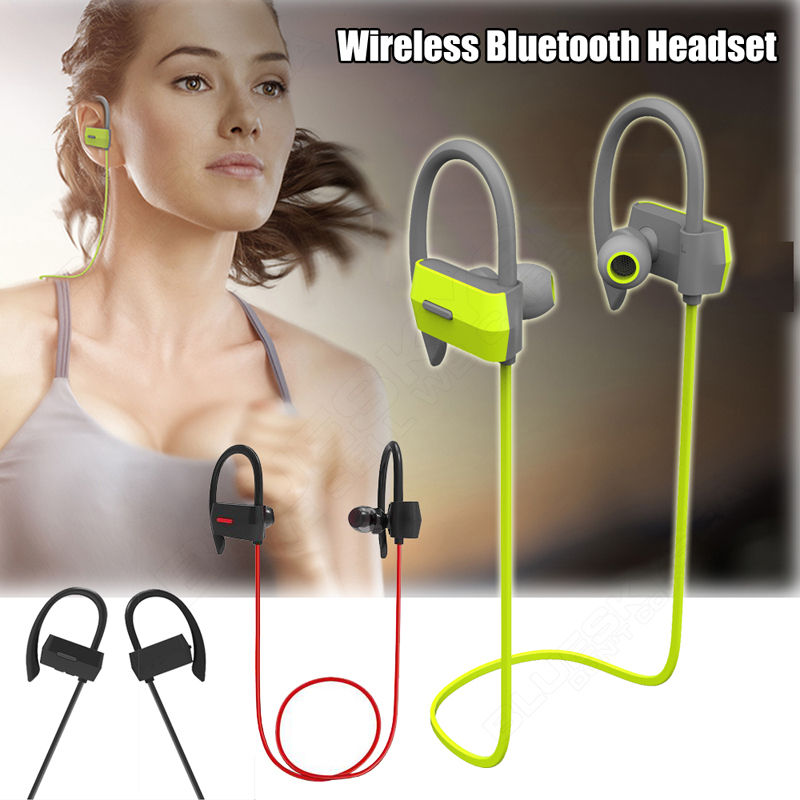 Free shipping!Wireless Bluetooth Headset SPORT Stereo Earphone for ios 6S and android<br><br>Aliexpress