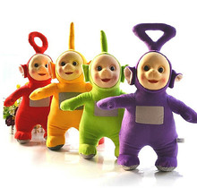 4pcs/set High quality 20-25cm Teletubbies Laa Po Tinky Dipsy Plush Toys Stuffed Doll 4 Colors Cartoon Stuffed Doll Birthday Gift