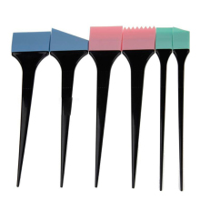 Salon 6 PCS Hair Dying Tools Silicon Coloring Brushes Mixing Comb Set Tinting Dye Hairdressers Styling Earmuffs Kit