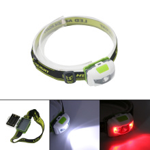 Hot!!R3+2LED Red light + White light 4 Mode High power 300 Lumen Flashlight Head Torch Headlight AAA Head Lamp Lantern Fishing(China)