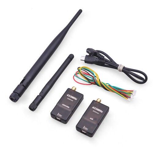 F19607/08 New 3DR Wireless Data Transmission/Radio 500mW RX+TX Telemetry w/OTG for APM2.6 2.8 Pixhawk FPV system Antenna<br>