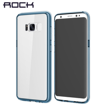 Buy Samsung Galaxy S8 S8 Plus Case Rock Ultra Thin Slim Transparent Clear Hard Back Cover Protect Phone Case Galaxy S8 Shell for $6.99 in AliExpress store