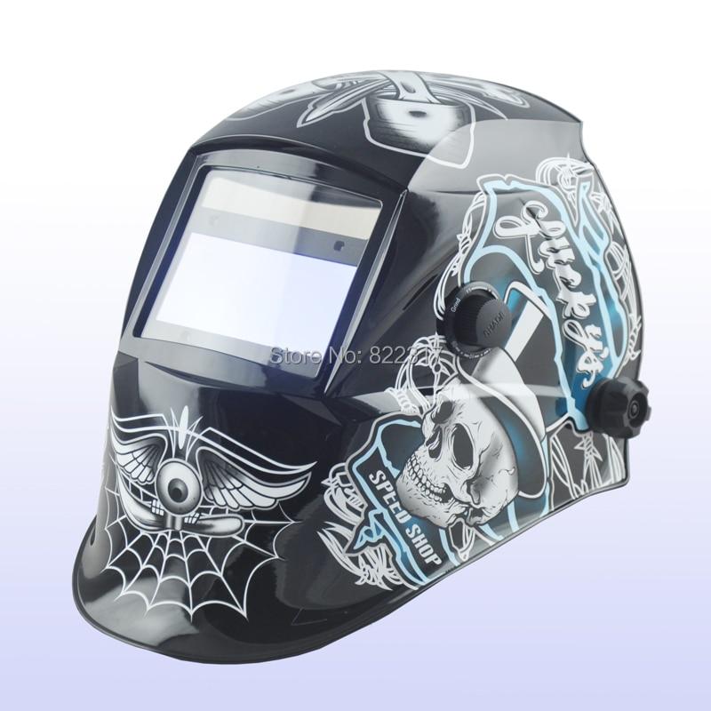 Auto darkening welding helmet/welding mask/MIG MAG TIG(Yoga-718G Flame)/Grinding<br><br>Aliexpress