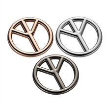 3D Metal Anti-war Against War Peace logo Sign Symbol Emblem Badge Hollow Out Cool Car Body Decorative Decal Car Accessories