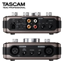 Original TASCAM US-366 US366 professional USB audio interface recording sound card with microphone amp(China)