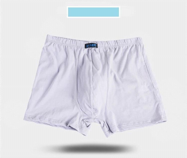 Male Men\`s Long Boxer Shorts Cotton Panties Mens Large Size Underpant Fat New Fashion Sexy Mr Underwear (18)