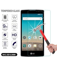 Tempered Glass For LG K5 K10 K4 G5 G6 Spirit Nexus 5X G2 mini magan G3 G3S G4 G4S leon k220ds X Power Case Screen Protector Film(China)