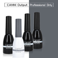CANNI Gel Varnish 239 Color 15ml 62507 Odorless Organic Long Lasting Base Coat No-wipe Topcoat Reinforce UV LED Nail Gel Polish