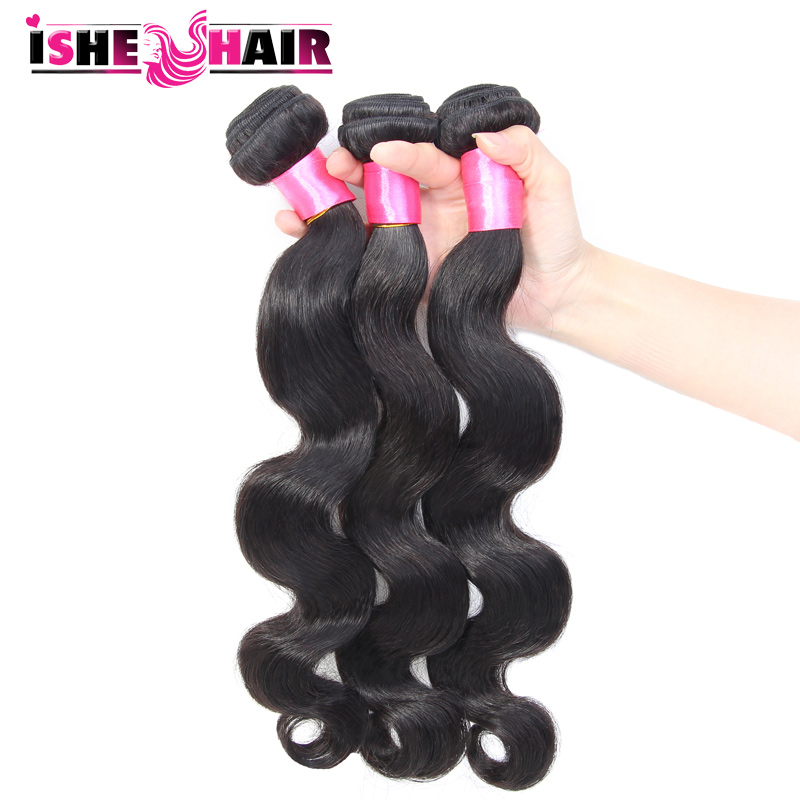 Unprocessed 6A Peruvian Virgin Hair Body Wave Human Hair Weave Peruvian Body Wave Peruvian Hair Extension 3pcs lot <br><br>Aliexpress