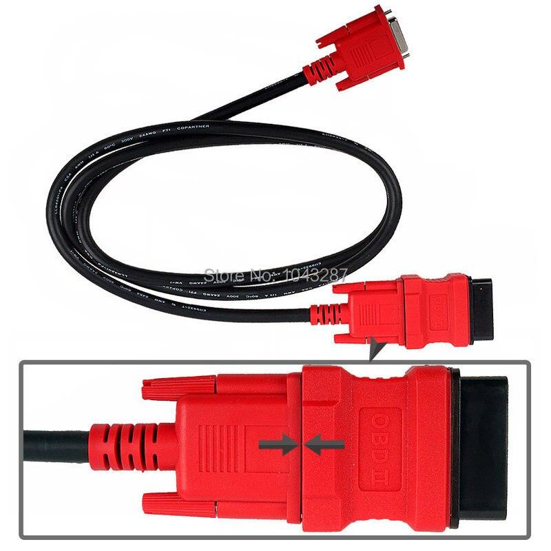 5pcs Top rated100% Original Autel MaxiDAS DS708 Main Test Cable + OBD16Pin Adapter<br><br>Aliexpress