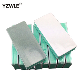 10Pcs Double Side Nail File Buffer Block Sanding Washable Manicure Tool For Nail (NR-WS84)