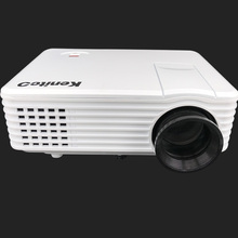 Manufacturer 800*480 1800 lumens LCD hdmi USB  Support VGA HDMI TV AV the LED projector