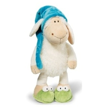 2017 New Hot Sale 25cm 35cm 50cm 80cm Nici Jolly Sleepy Sheep Animal Plush Toy Children Birthday Gift 1pcs Christmas Presents