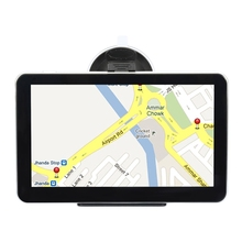 A2 7 inch Vehicle GPS Navigation Car Video Players Windows System Built-in FM Rechargeable Li-ion TFT Touch Screen USB Port