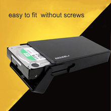 SATA TO USB 3.0 high speed HDD  CASE BOX 3.5 Inch SATA HDD CASE  TOOL FREE    external hard disk case