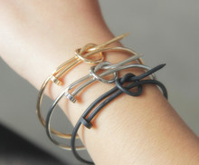 12pcs/lot Newest Women Fashion Minimalist fine Copper cuff friendship bracelets nail Bangles best gift for girlfriend