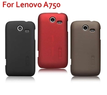 Fashion Matte Hard Cover Case For Lenovo A750 Free Screen Protector Singapore post ship
