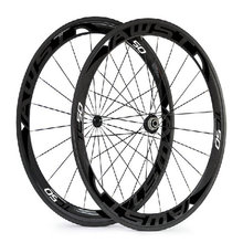 AWST TC50  UD matt weave 50mm full carbon bicycle road wheels black decal cycling wheels 23mm V shaped taiwan carbon wheels