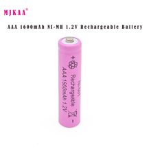 10pcs/lot New AAA 1600mAh NI-MH 1.2V Rechargeable Battery AAA Battery 3A rechargeable battery NI-MH battery for camera,toys