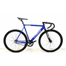 Fixed Gear Bike Urban Track Bike Fixie Carbon Fiber Fork Commute Bike 40mm rim road bike T2 fixie bicycle(China)
