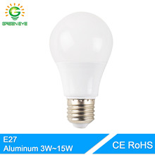 GreenEye Aluminum Cooling High Bright Led Bulb E27 3W 5W 7W 9W 12W 15W AC 220V 240V Real Watt Lampara Bombilla Ampoule LED Lamp(China)