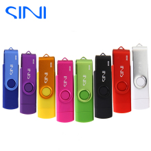SINI OTG pen drive Android Smart Phone 32gb 16gb usb flash drive pendrive 8gb 4gb cle usb Stick 64gb Memory Disk for gift(China)
