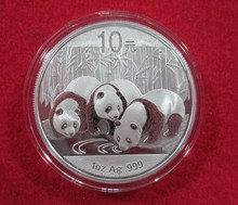 Newest panda coin!2013 Year Panda Silver plated  Coin panda coin!1oz 10 Yuan Silver coin with Original box without certificate