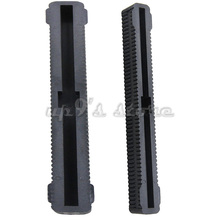 Free Shipping 2PCS Surfing Longboard Surfboard Fin Box Black 8 inch