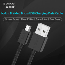 [Wholesale] ORICO Micro USB Fast Charging Data Cable 1.0 Meter Support Max 2A for Android Mobile Phone(China)