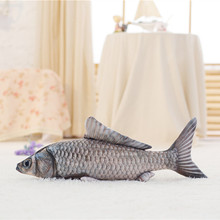 1pc 30cm Cute Simulation Crucian Fish Plush Toy Stuffed Cartoon Animal Fish Pillow Little Fish Dolls Valentines for Baby&Kids