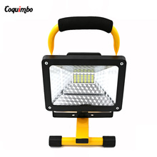 High Quality 2400Lm Portable Work Light Flood 30W LED Camping Light 3 Mode Outdoor Lanterns Work Light Power By 3*18650 Battery(China)