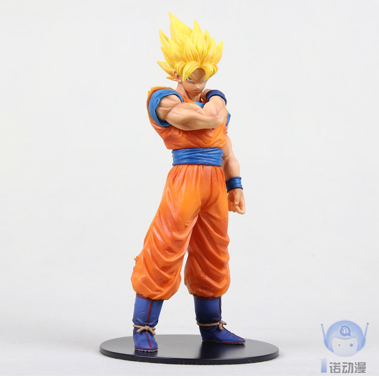 Banpresto Dragon Ball Z Resolution of Soldiers Super Saiyan Son Goku Gokou Vegeta 20cm Action Figure<br><br>Aliexpress