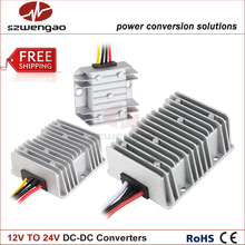 High Quality Step-up Converters 12V to 24V 3A 5A 8A 10A 15A 20A DC DC Converter Car Power Supply Boost Module(China)