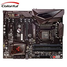 Original Motherboard for  Colorful LGA 1151 DDR4 Double Channel 64 GB Intel Z270 Chipset Support I3 I5 I7 CPU Desktop mobo Board
