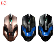 Wired Mouse 2400DPI Gaming Mouse Optical USB Mice Computer Mause Mice Cable For PC Computer laptop Internet home use(China)