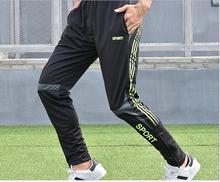 Men's Football Training Pants Quick-Dry Fitness Running Trousers Breathable Outdoor sports Trousers