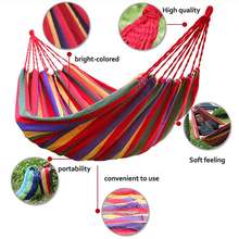 outdoor portable inflatable hammock stand camping parachute garden hammock tent chair hanging chair indoor double hammock swing(China)