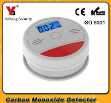 Buy Yobang Security 10pcs/lot LCD Photoelectric CO Gas Sensor Carbon Monoxide Poisonous Gas Leak Detector Alarm CO Detector for $67.41 in AliExpress store