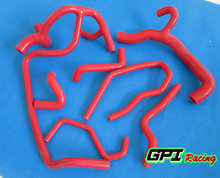 RED silicone radiator hose FOR Renault Clio MK1 16s/Williams 1.8/2.0 16V-1998,NEW