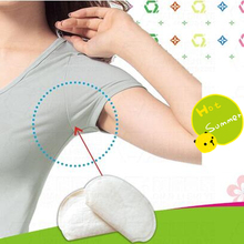 2Pcs/set  Absorbent Pads Underarm Armpit Sweat Pads Shield Perspiration Odour Dress Clothing Keep Dry All Day Deodorant Stick