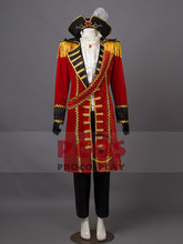 Deluxe Hetalia: Axis Powers England (UK) Pirate Cosplay Party Costume mp000842