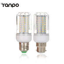 E27 Dimmable LED Corn Bulb AC 220V B22 Bayonet LED Energy Saving Lamp Lights 45 64 80 126Leds 12W 18W 21W 25W Home Lightings
