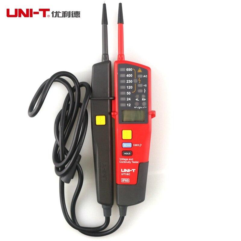 UNI-T UT18C Voltage And Continuity Testers AC/DC Voltmeter Auto Range Non-contact Voltage Detector Pen<br><br>Aliexpress