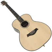 "In Stock -41"" Acoustic guitar with Solid Spruce top, Rosewood back and sides, Real abalone fretboard inlays, Ebony fretboard"