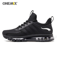 Onemix running shoes for men high top shock absorption sports sneaker breathable light sneaker for outdoor walking jogging shoes(China)