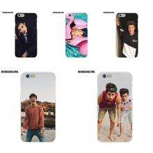 Pink Mrs Cameron Dallas For Apple iPhone X 4 4S 5 5C SE 6 6S 7 8 Plus Soft Silicone TPU Transparent Friendship Cell Phone Case(China)
