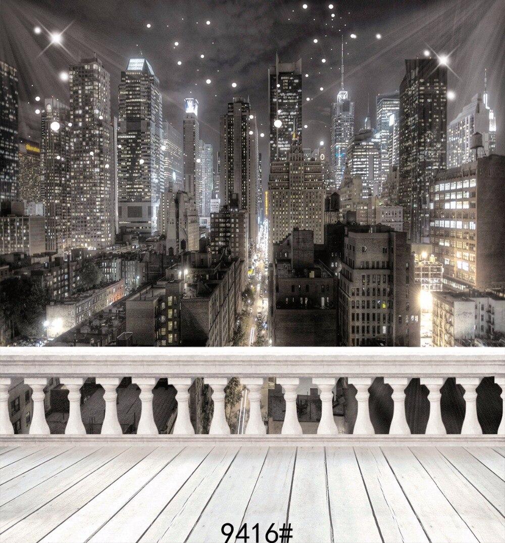 City night backgrounds for photo studio 10x10ft  achtergronden voor fotostudio backdrops   Wood floor backdrop<br><br>Aliexpress