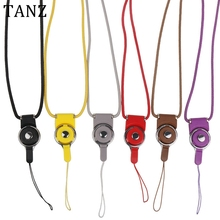 Neck Cell Phone Mobile Chain Straps Camera Straps Keychain Charm Cords DIY Hang Rope Lariat Lanyard for ID Pass Card MP3 Holder(China)