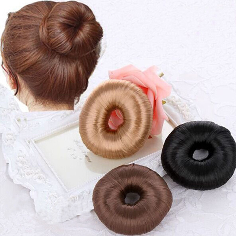 Hot Women Hairpiece Donut Hair Styling Hair Braider Accessory Braiding Tools Updo Maker Hair Accesories Free Shipping(China (Mainland))
